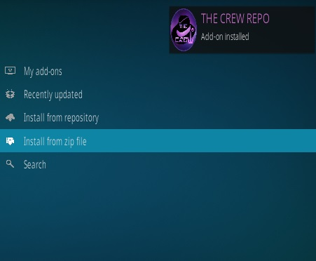 How To Install The Crew Kodi Addon 2020 Step 13