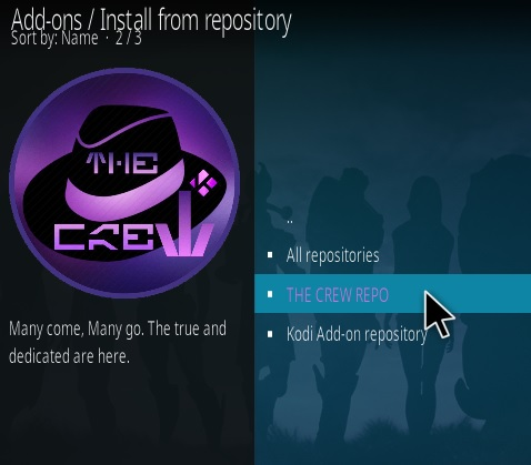 How To Install The Crew Kodi Addon 2020 Step 15