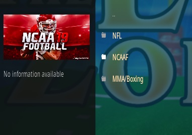 How To Install The End-Zone Kodi Addon Update V16 Overview
