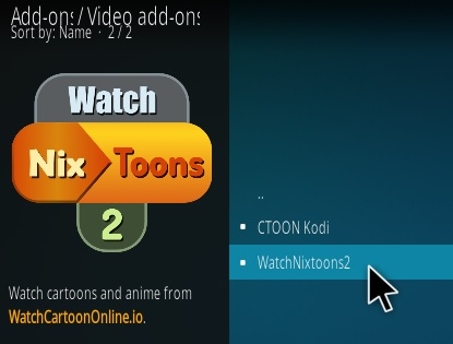 How To Install Watch NixToons 2 Kodi Anime Add-on Update Step 17