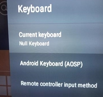 How to Hide the Onscreen Keyboard on an Android TV Box Step 2