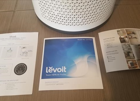 Review LEVOIT LV-H133 Air Purifier Home Large Room True HEPA Filter ALL
