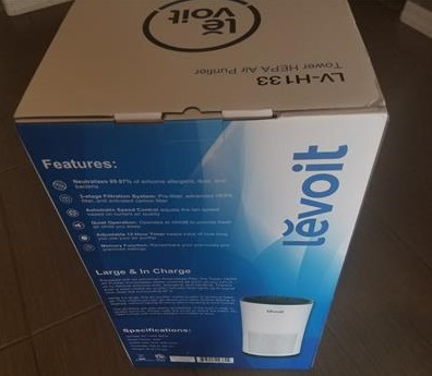 Review LEVOIT LV-H133 Air Purifier Home Large Room True HEPA Filter