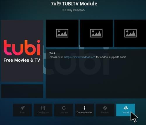 How To Install 7of9 Tubi TV Kodi Addon Step 19
