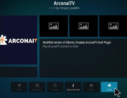 How To Install Arconai TV Kodi Addon 2020 Step 17