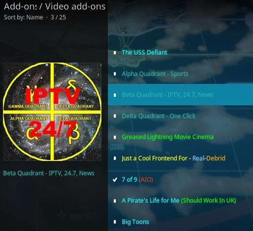 How To Install Beta Quadrant Kodi Addon IPTV Step 18