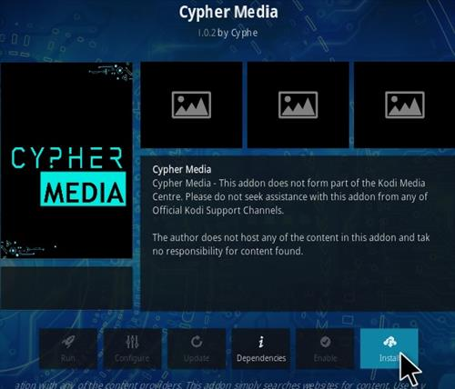 How To Install Cypher Media Kodi Addon V102 Step 18