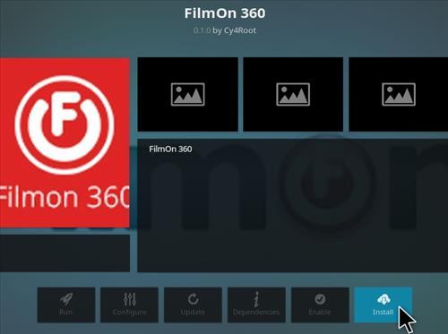 How To Install FilmOn 360 Kodi Addon Step 18