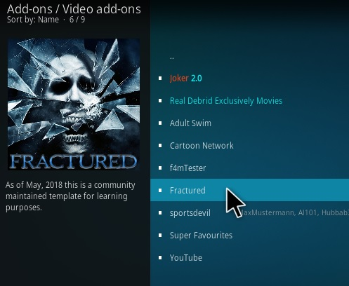 How To Install Fractured Kodi Addon Step 17