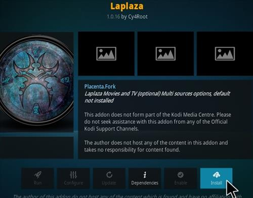 How To Install Laplaza Kodi Addon 2020 Step 18