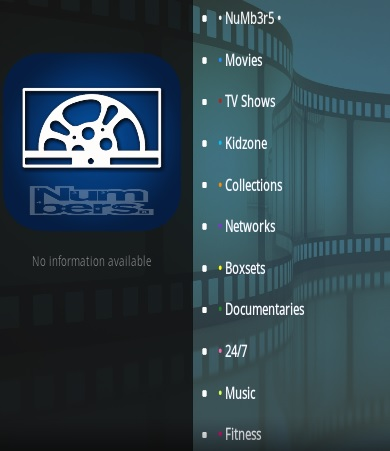 How To Install Numbers Kodi Video Addon V89 Overview