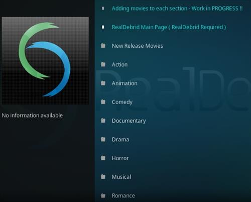 How To Install Real Debrid Exclusively Movies Kodi Addon Overview