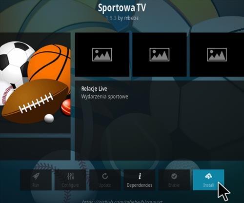 How To Install Sportowa TV Kodi Sports Addon 2020 Step 18