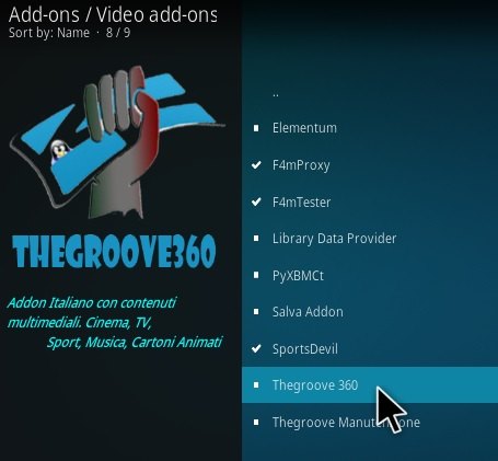 How To Install The Groove 360 Kodi Addon Step 17