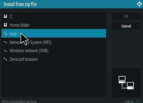 How To Install the Loop Kodi Addon Step 17