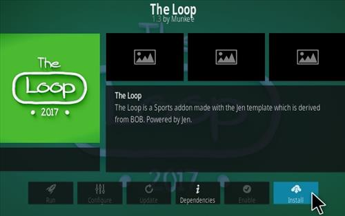 How To Install the Loop Kodi Addon Step 23