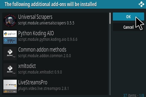 How To Install the Loop Kodi Addon Step 24