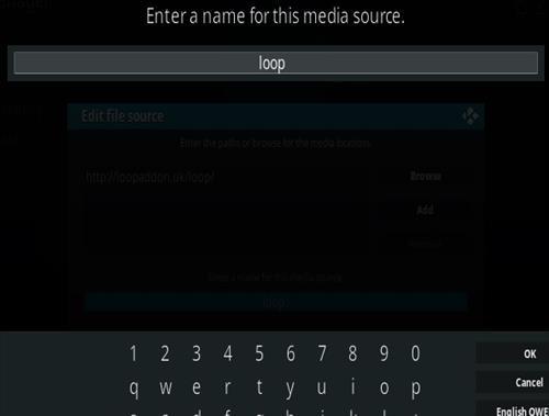 How To Install the Loop Kodi Addon Step 6