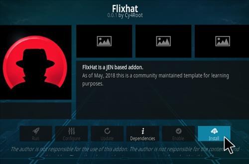 How to Install Flixhat Kodi Addon Step 18