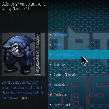 How to Install Sports Classic Kodi Addon New URL Step 17