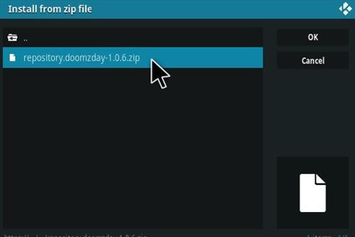 How To Install DOOM Kodi Torrent Addon Step 12