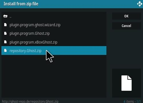 How To Install Ghost Portal Kodi Addon Step 12