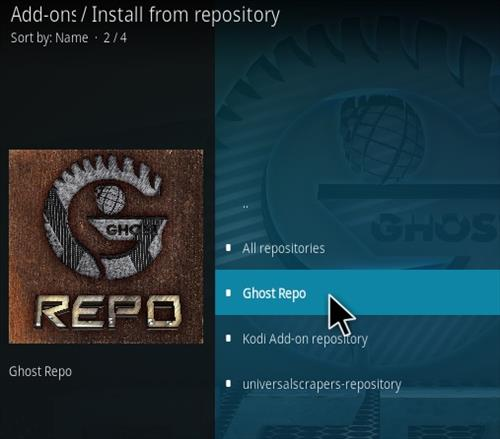 How To Install Ghost Portal Kodi Addon Step 15