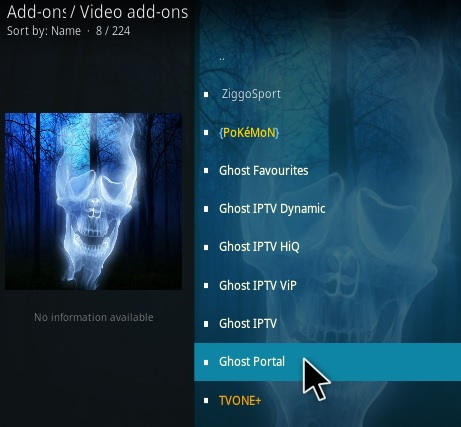 How To Install Ghost Portal Kodi Addon Step 17