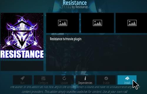 How To Install Resistance Kodi Addon 2020 Step 18