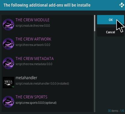 How To Install The Crew Kodi Addon V210 Step 19