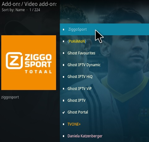 How To Install Ziggo Sport Kodi Addon Step 17