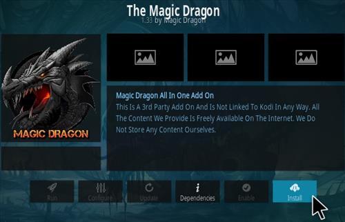 How to Install The Magic Dragon Kodi Add-on 2020 Step 18