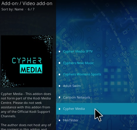 How To Install Cypher Media Kodi Addon Update Step 17