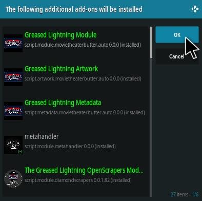 How To Install Destiny Greased Lighting Movie Cinema Kodi Addon Step 20