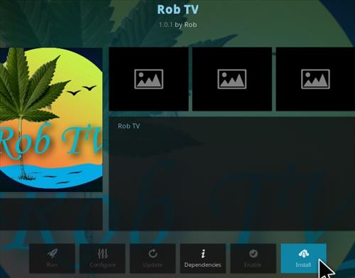 How To Install Rob TV Kodi Addon Step 18