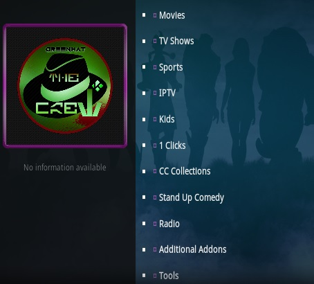 How To Install The Crew Kodi Addon Update V68 Overview