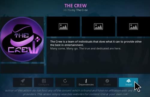How To Install The Crew Kodi Addon V30 Step 18