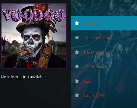 How To Install Vodoo Kodi Addon 2020 Overview