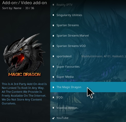 How to Install The Magic Dragon Kodi Add-on Install 2020
