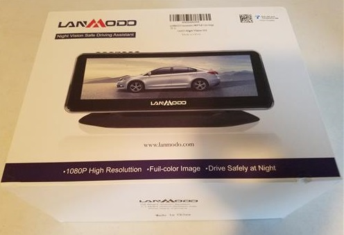 Review Lanmodo Car Night Vision Camera Front and Rear HD 1080p