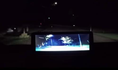 Review Lanmodo Car Night Vision Camera System HD 1080p Test 1