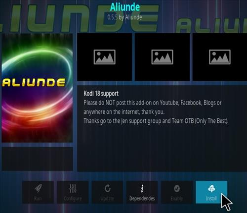 How To Install Aliunde Kodi Addon V297 Step 17