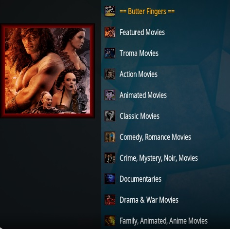 How To Install Butter Fingers Movies Kodi Addon Overview 2020