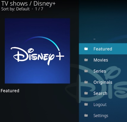 How To Install Disney Plus Kodi Addon Overview 2