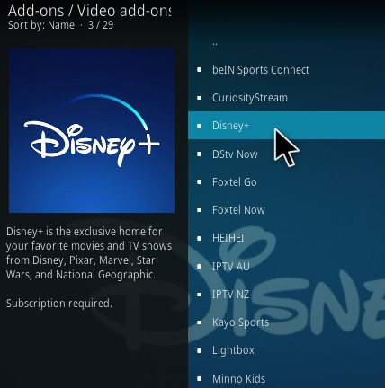How To Install Disney Plus Kodi Addon Step 18