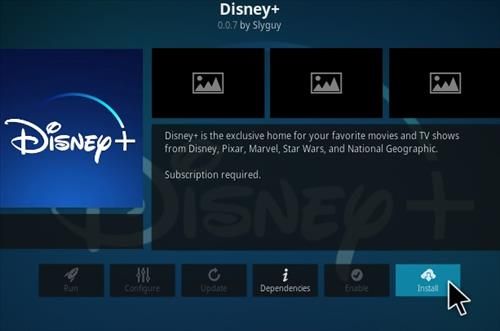 How To Install Disney Plus Kodi Addon Step 19