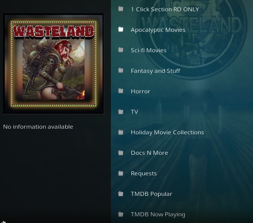 How To Install Wasteland Kodi Add-on Overview