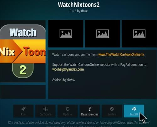 How To Install Watch NixToons 2 Kodi Anime Add-on Step 18