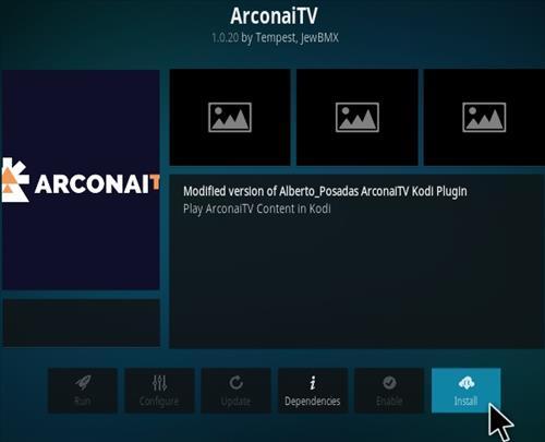 How To Install Arconai TV Kodi Addon Step 17