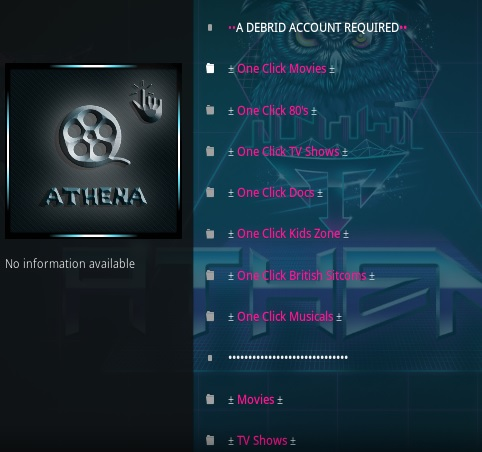 How To Install Athena Kodi Addon Overview